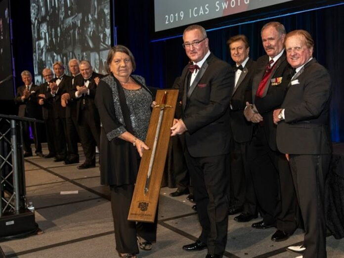 Dale Drumright - 2019 ICAS Sword of Excellence Recipient