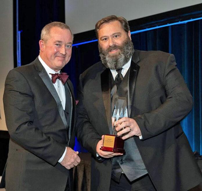 Matt Chapman - 2019 ICAS Special Achievement Award Winner